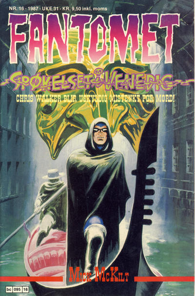 Cover for Fantomet (Semic, 1976 series) #16/1987