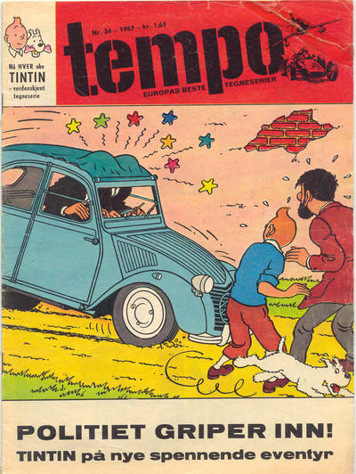 Cover for Tempo (Hjemmet, 1966 series) #34/1967