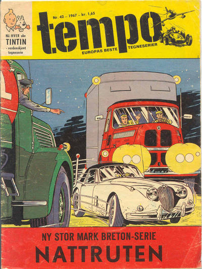 Cover for Tempo (1966 series) #42/1967
