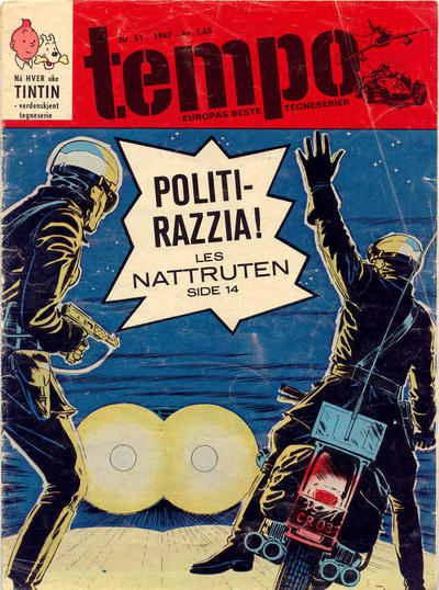 Cover for Tempo (Hjemmet, 1966 series) #51/1967