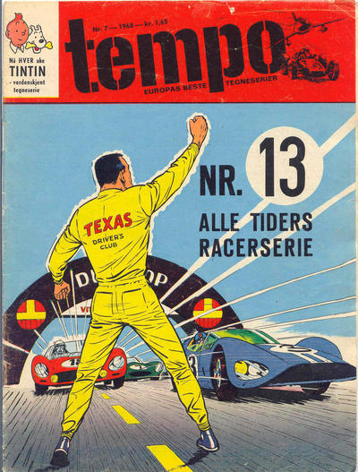 Cover for Tempo (Hjemmet, 1966 series) #7/1968