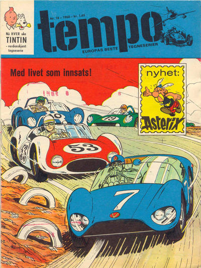 Cover for Tempo (Hjemmet, 1966 series) #18/1968