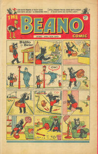 Cover Thumbnail for The Beano Comic (D.C. Thomson, 1938 series) #360