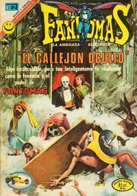 Cover Thumbnail for Fantomas (Editorial Novaro, 1969 series) #81