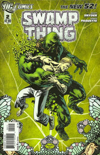 Cover Thumbnail for Swamp Thing (DC, 2011 series) #2