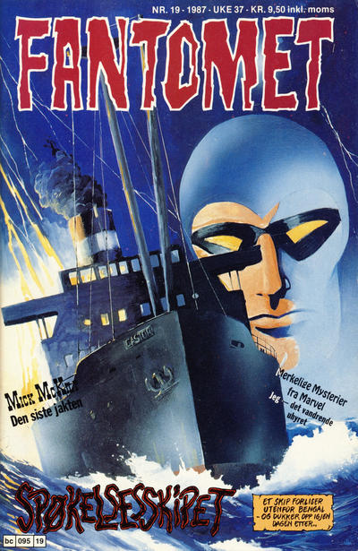 Cover for Fantomet (1976 series) #19/1987