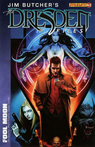 Cover for Jim Butcher's The Dresden Files: Fool Moon (Dynamite Entertainment, 2011 series) #3