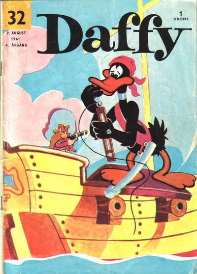 Cover for Daffy (Allers Forlag, 1959 series) #32/1961