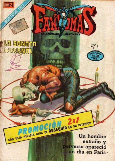 Cover for Fantomas (1969 series) #350