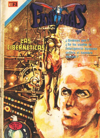 Cover for Fantomas (Editorial Novaro, 1969 series) #304