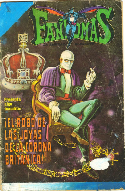 Cover for Fantomas (Editorial Novaro, 1969 series) #147