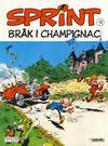 Cover for Sprint (Semic, 1986 series) #13 - Bråk i Champignac [3. opplag]