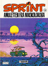 Cover for Sprint (Semic, 1986 series) #20 - Amuletten fra Nikokolokoba [3. opplag]