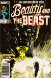 Cover for Beauty and the Beast (Marvel, 1984 series) #1 [Newsstand Edition]