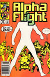 Cover Thumbnail for Alpha Flight (1983 series) #25 [Newsstand Edition]