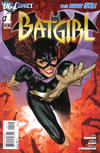 Cover for Batgirl (DC, 2011 series) #1 [2nd Printing - Red Background]