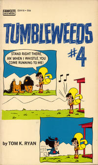 Cover Thumbnail for Tumbleweeds (Gold Medal Books, 1970 series) #4 (D2419)
