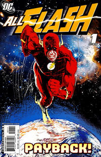 Cover Thumbnail for All Flash (DC, 2007 series) #1 [Bill Sienkiewicz Variant]