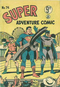 Cover Thumbnail for Super Adventure Comic (K. G. Murray, 1950 series) #74
