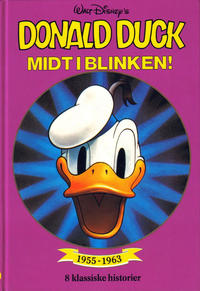 Cover for Donald Duck bøker [Gullbøker] (1984 series) #[1990] - Midt i blinken!