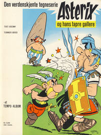 Cover Thumbnail for Asterix (Hjemmet, 1969 series) #1 - Asterix og hans tapre gallere [2. opplag]