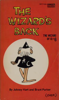 Cover Thumbnail for The Wizard's Back (Gold Medal Books, 1973 series) #6 (R2777)