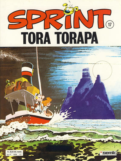Cover for Sprint (Semic, 1986 series) #17 - Tora Torapa [3. opplag]