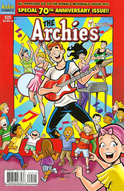 Cover for Archie (Archie, 1959 series) #625