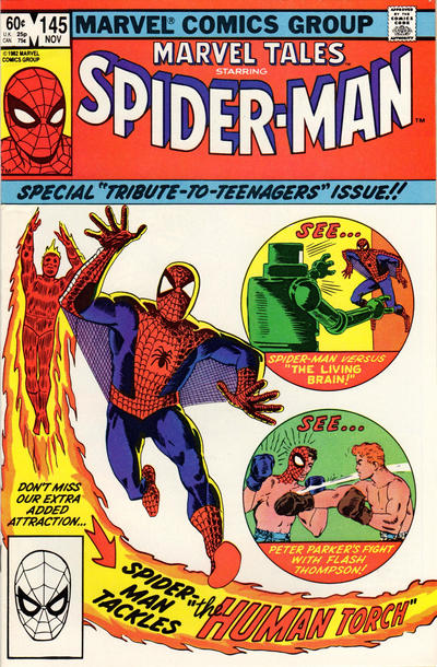 Cover for Marvel Tales (Marvel, 1966 series) #145 [Direct Sales]