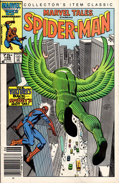 Cover for Marvel Tales (Marvel, 1966 series) #188 [Newsstand Edition]