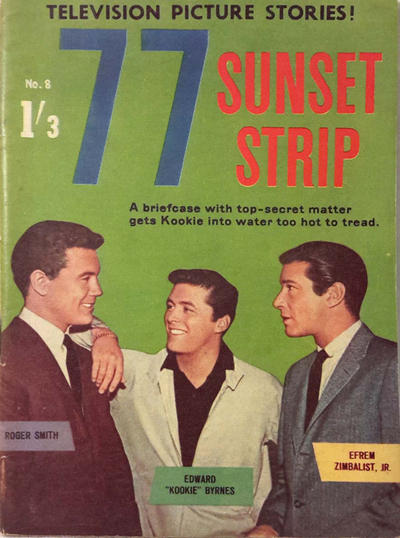 Cover for 77 Sunset Strip (Magazine Management, 1963 series) #8