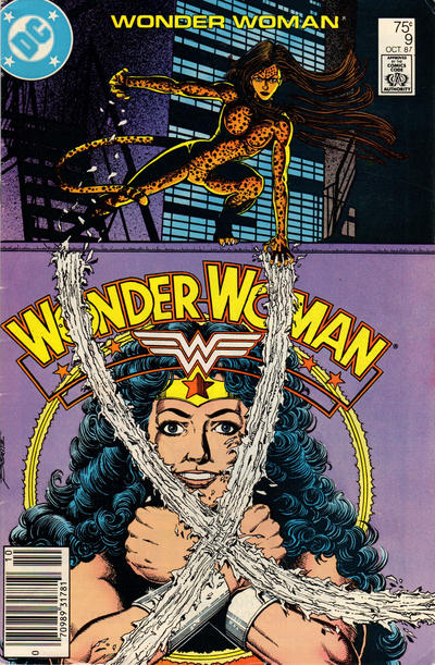 Cover for Wonder Woman (DC, 1987 series) #9