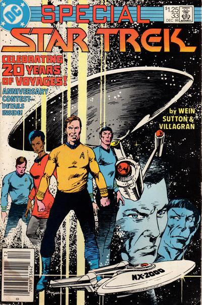 Cover for Star Trek (1984 series) #33