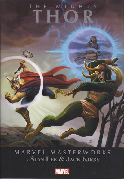 Cover for Marvel Masterworks: The Mighty Thor (2010 series) #2