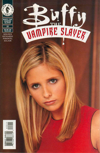 Cover for Buffy the Vampire Slayer (Dark Horse, 1998 series) #22 [Photo Cover]