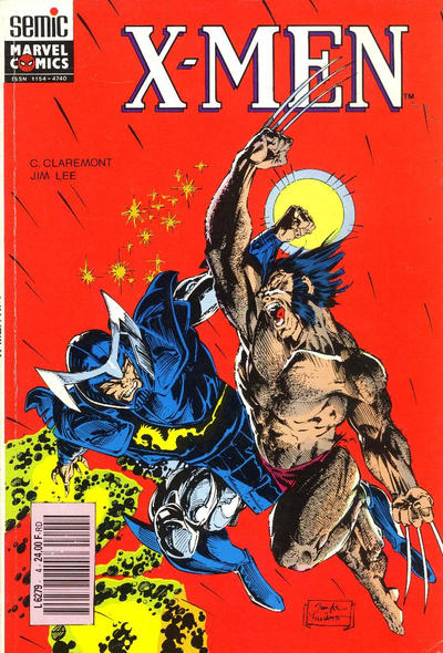Cover for X-Men Saga (Semic S.A., 1990 series) #4