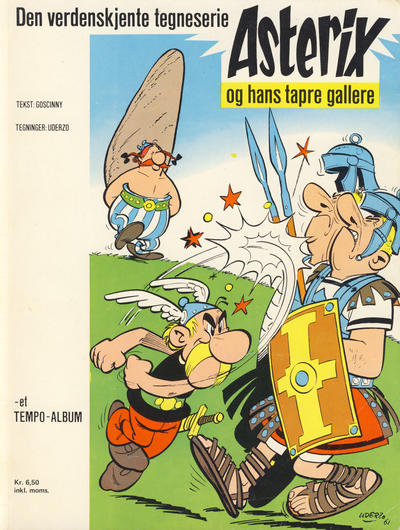 Cover for Asterix (1969 series) #1 - Asterix og hans tapre gallere [6. opplag]