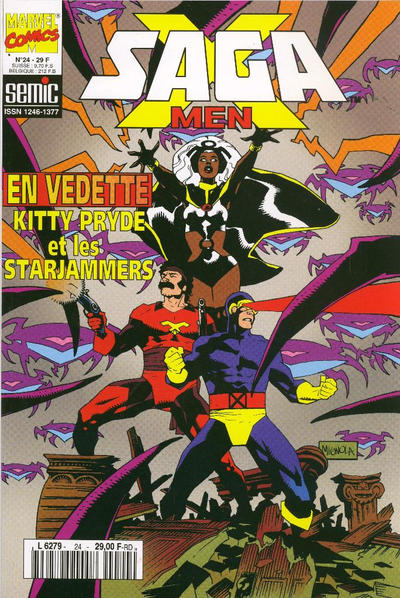 Cover for X-Men Saga (Semic S.A., 1990 series) #24