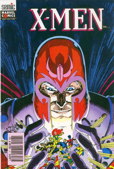 Cover for X-Men Saga (Semic S.A., 1990 series) #7