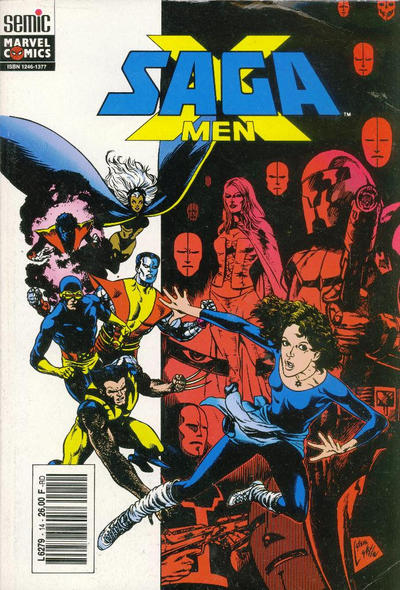 Cover for X-Men Saga (1990 series) #14