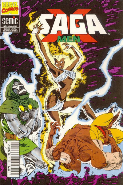 Cover for X-Men Saga (1990 series) #20