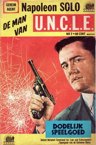 Cover for Napoleon Solo de Man van U.N.C.L.E. (Semic Press, 1967 series) #2