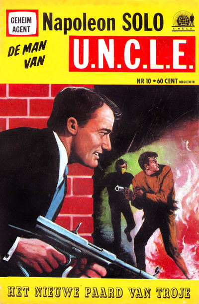 Cover for Napoleon Solo de Man van U.N.C.L.E. (1967 series) #10