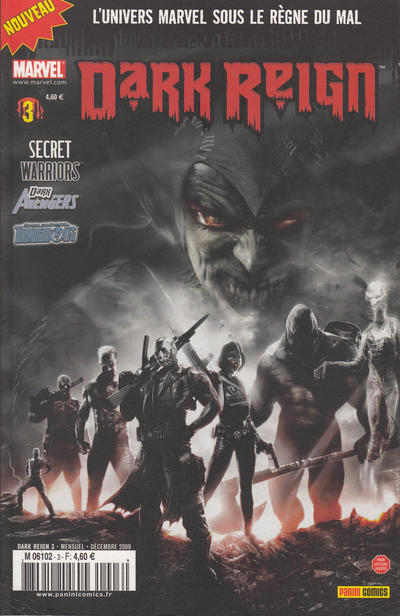 Cover for Dark Reign (Panini France, 2009 series) #3