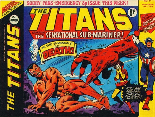 Cover for The Titans (Marvel UK, 1975 series) #11