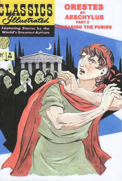 Cover for Classics Illustrated (Greek series) (Classic Comic Store, 2008 series) #59