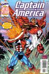 Cover for Captain America (Marvel, 1998 series) #25 [Direct Edition]