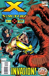 Cover Thumbnail for X-Factor (Marvel, 1986 series) #110 [Deluxe Direct Edition]
