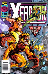 Cover Thumbnail for X-Factor (Marvel, 1986 series) #124 [Newsstand Edition]