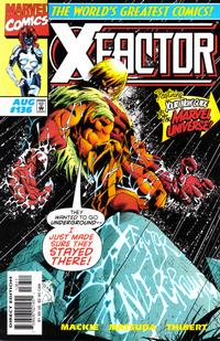 Cover Thumbnail for X-Factor (Marvel, 1986 series) #136 [Direct Edition]